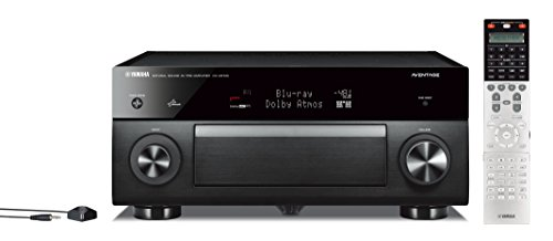 Yamaha CX-A5100 11.2-CH MusicCast Preamplifier with Built-In Wi-Fi & Bluetooth (Black)
