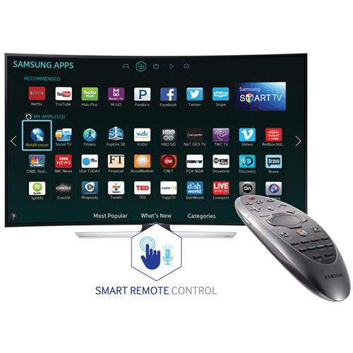 Image for Samsung UN55HU9000 55'' Curved 4K UHD 120Hz 3D Smart LED HDTV