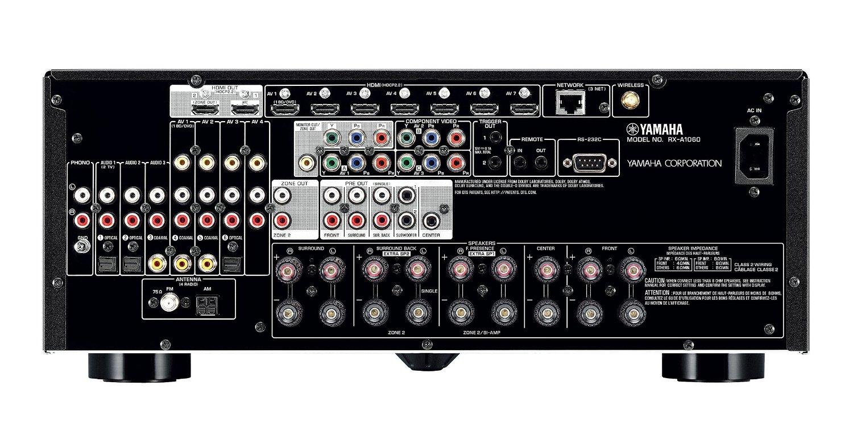 yamaha rx a1060bl 7 2 channel network av receiver. Black Bedroom Furniture Sets. Home Design Ideas