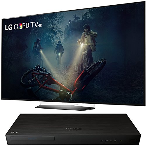 """LG OLED55B7A 55"""" OLED 4K HDR Smart TV 2017 Model - with LG 4K Ultra-HD Blu-ray Player with Multi HDR"""