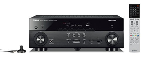 Yamaha AVENTAGE RX-A680 7.2-ch 4K Ultra HD AV Receiver with HDR, Dolby Vision, Dolby Atmos, Wi-Fi, Phono, and MusicCast. Works with Alexa.