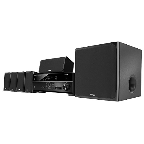 Image for Yamaha YHT-5920UBL MusicCast Home Theater in a Box