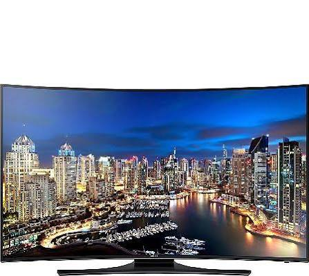 "Samsung UN55HU7250F 55"" Curved LED-backlit Smart 4K UHDTV (2160p)"