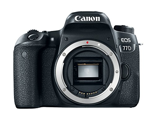 Canon EOS 77D 24.2MP DSLR Camera - Body Only