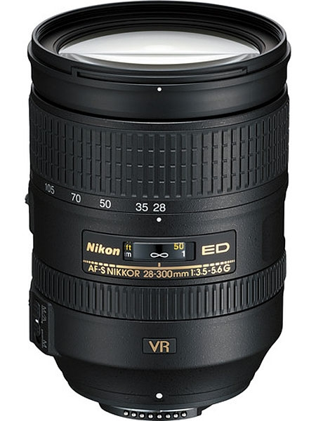Image for Nikon AF-S NIKKOR 28-300mm f3.5-5.6G ED VR Zoom Lens