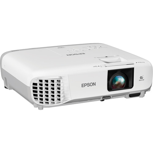 Epson PowerLite W39 - Portable WXGA 720p 3LCD Projector with Speaker