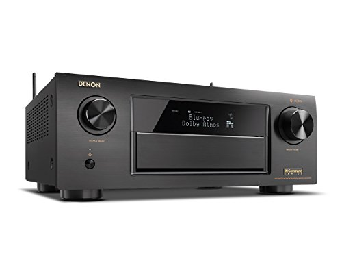 Denon AVRX6300H 11.2 Channel Full 4K Ultra HD AV Receiver with Built-in HEOS wireless technology fea