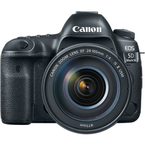 Image for Canon EOS 5D Mark IV 30.4MP DSLR Camera with 24-105mm Lens Kit