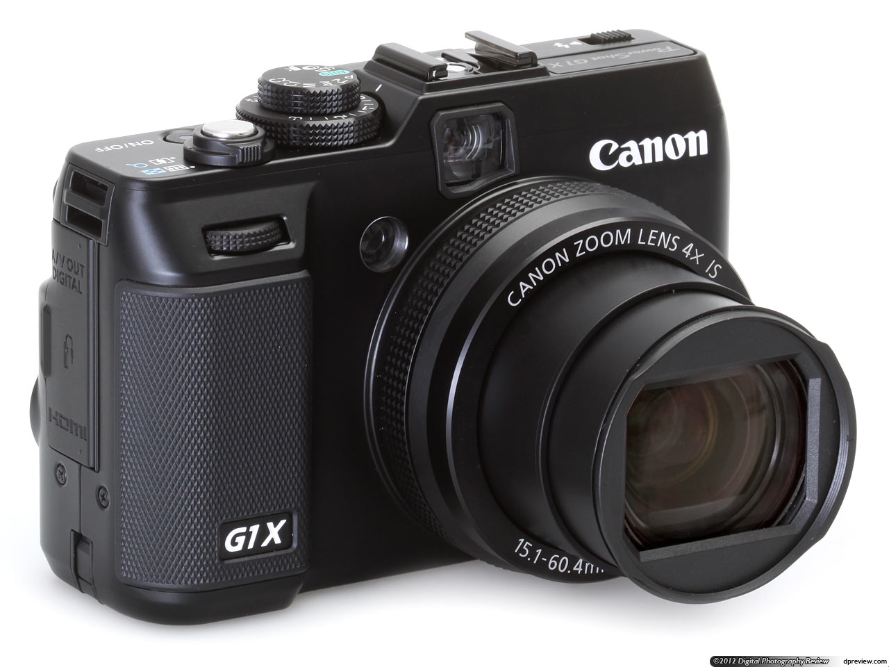 Canon PowerShot G1 X Mark II Digital Camera (Black)