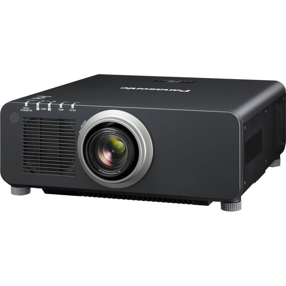 Panasonic PT-DZ870UK 1-Chip 8500 Lumen DLP Projector (Black)