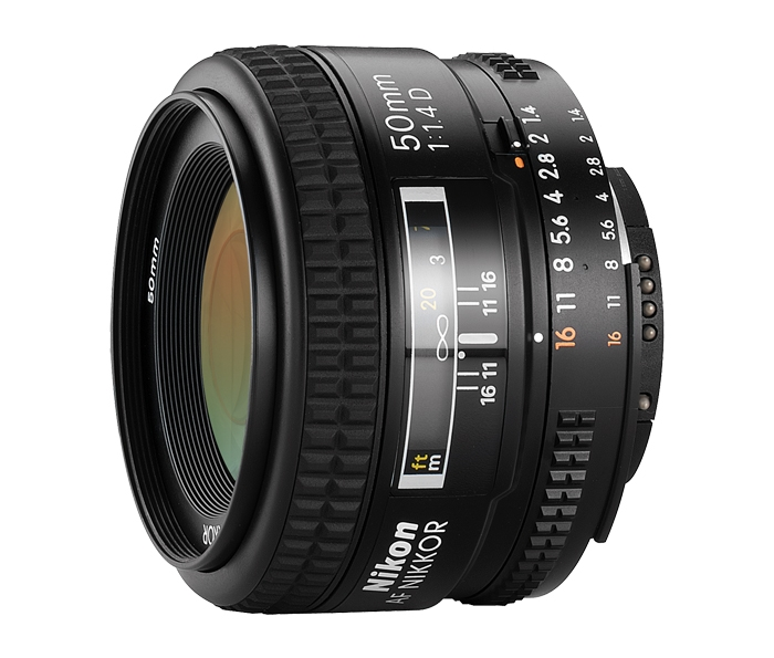 Image for Nikon AF Nikkor 50mm f/1.4D Camera Lens