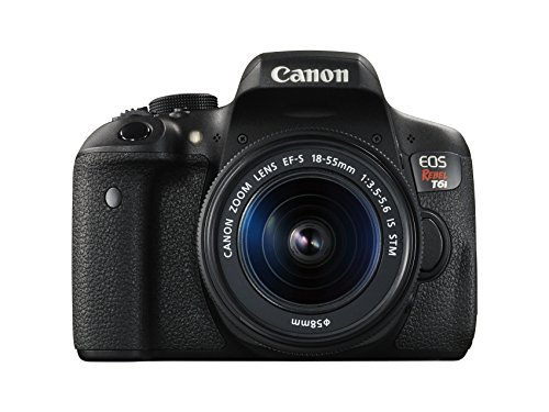 Image for Canon EOS Rebel T6i 24.2MP DSLR Camera with 18-55mm Lens