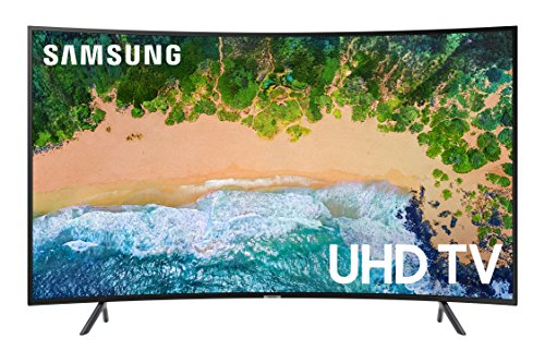 "Samsung UN55NU7300 55"" Curved 4K Ultra HD Smart LED TV"