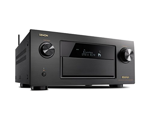Denon AVR-X7200WA 9.2 Channel Full 4K Ultra HD AV Receiver with Bluetooth and Wi-Fi