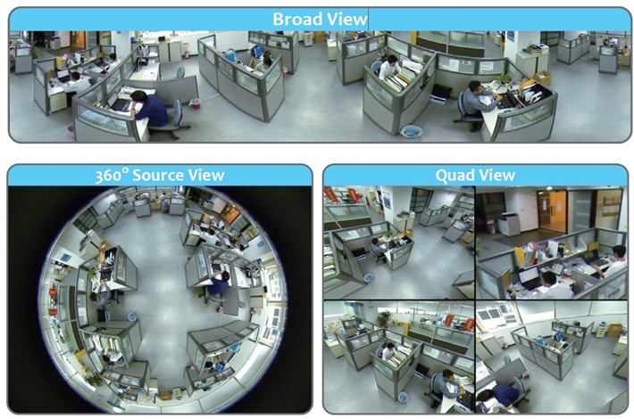 Image for DBS 213G - 600TVL CCTV 360° Security Camera - 1/3'' Sony Super HAD CCD II