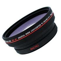 58mm Pro Titanium High Definition Wide Angle Macro Lens