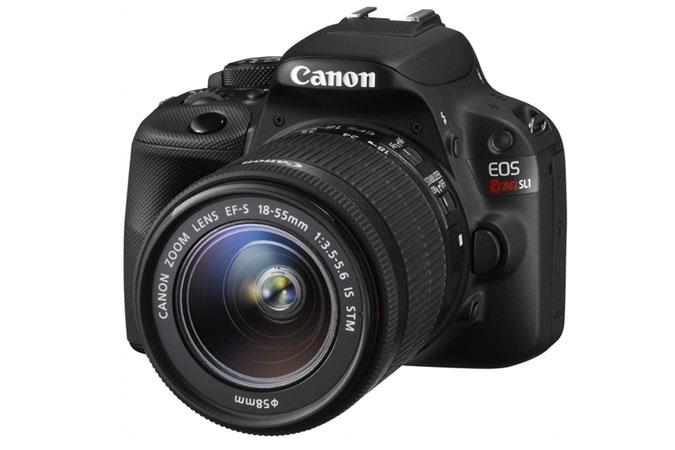 Canon EOS Rebel SL1 Digital SLR Camera - EF-S 18-55mm IS STM lens