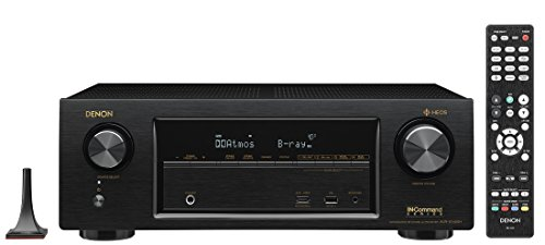 Denon AVRX1400H 7.2 Channel AV Receiver with Built-in HEOS wireless technology