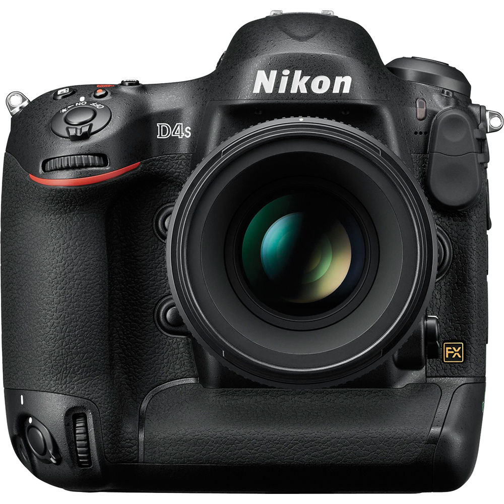 Image for Nikon D4S 16.2MP DSLR Camera (Body Only)