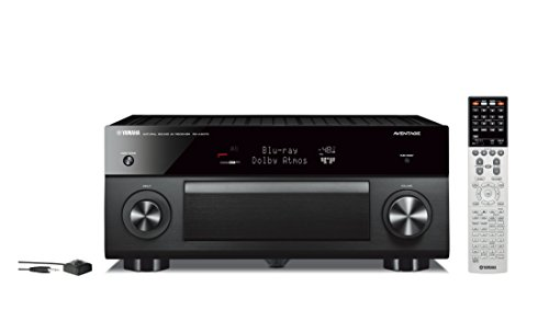 Yamaha AVENTAGE RX-A3070BL Audio & Video Component Receiver- Black