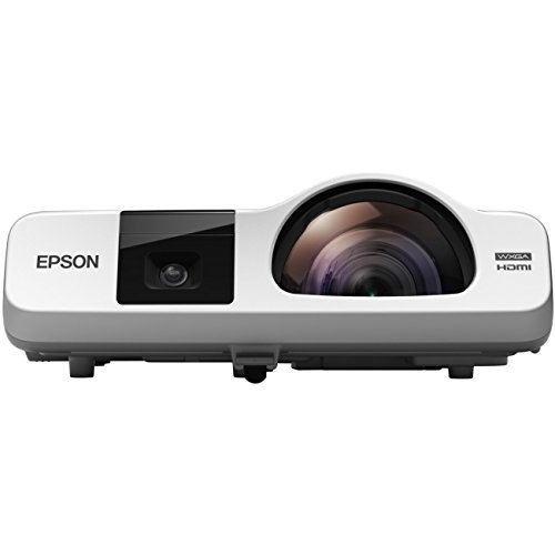 Epson BrightLink 536Wi - WXGA HD 3LCD Projector with Speaker - 3400 lumens