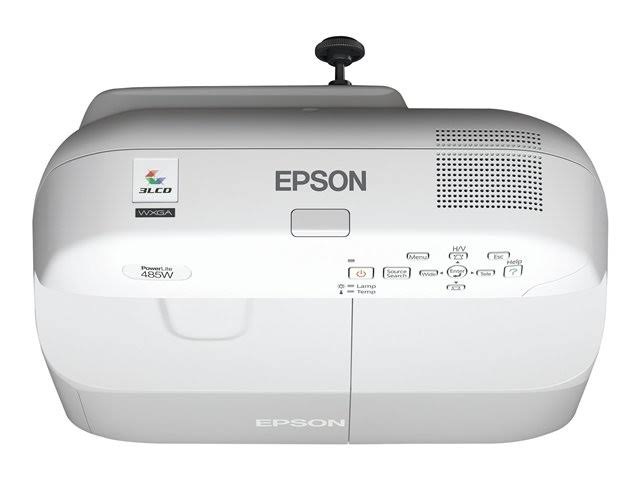 Epson PowerLite 485W WXGA (1280 x 800) LCD projector - 3100 lumens