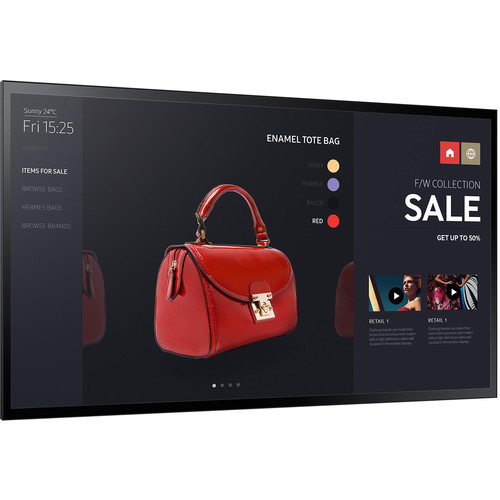 "Samsung PM55F-BC - 55"" Commercial LED Display w/ Touchscreen - 1080p"