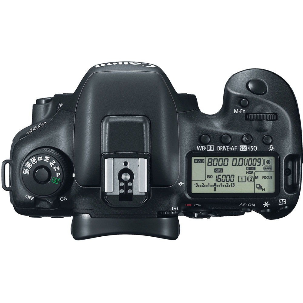 EOS 7D Mark II 20.2MP DSLR Camera - Body Only