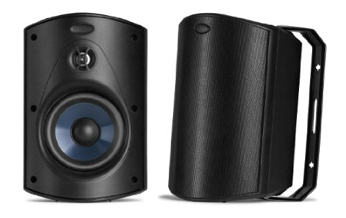 Image for Polk Audio Atrium 5 Speakers (Pair, Black)