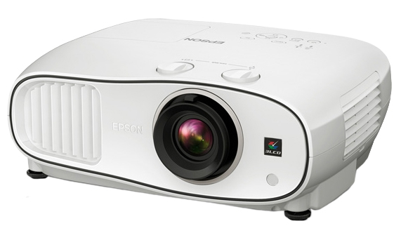 Image for Epson PowerLite Home Cinema 3500 3D - 1080p LCD Projector with Stereo Speakers