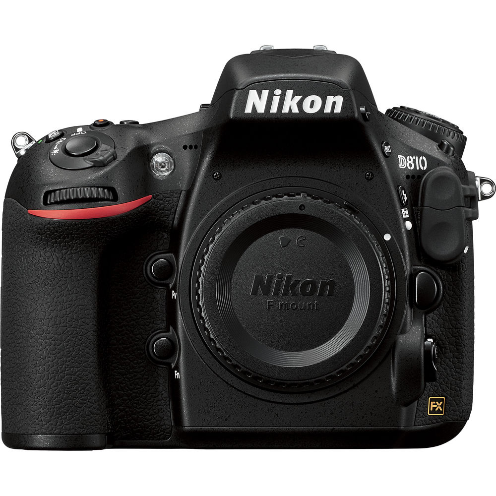 Image for Nikon D810 1080p HD DSLR Camera (Body) USA Bundle Kit