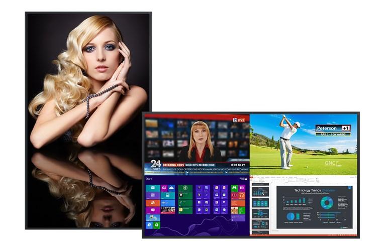 "Planar UR7551-MX-ERO - 75"" 4K Ultra HD Commercial LED Display"