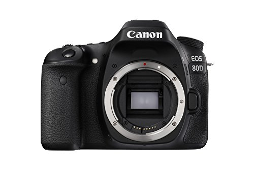 Canon EOS 80D 24.2MP DSLR Camera - Body Only