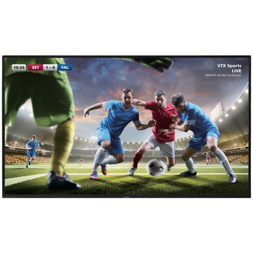 """Sharp 4T-B80CJ1U 80"""" 4K UltraHD Commercial Display"""