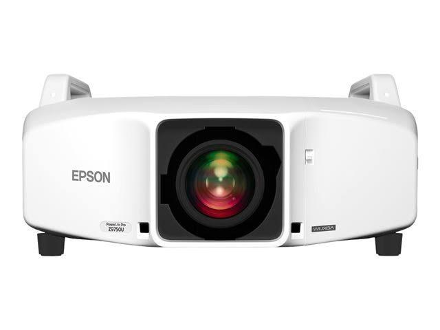 Epson PowerLite Pro Z9750UNL - WUXGA 1080p 3LCD Projector - 7500 lumens - White