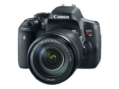 Canon EOS Rebel T6i 24.2 MP DSLR Camera with 18-135mm Lens