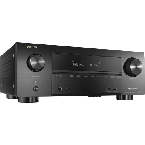 Denon AVR-X1500H 7.2 Channel AV Network Receiver - Black