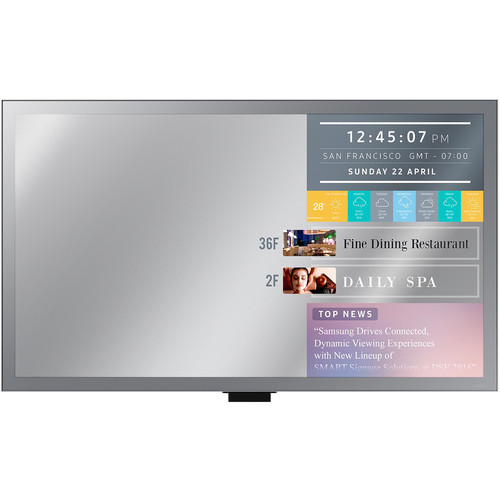"Samsung ML32E - 32"" Smart Signage Display with Mirror Functionalities - 1080p"