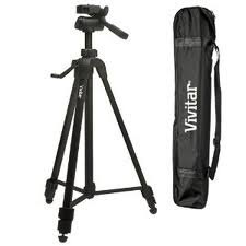 52 inch Swivel Tripod with 3 Way Adjustable Pan Head