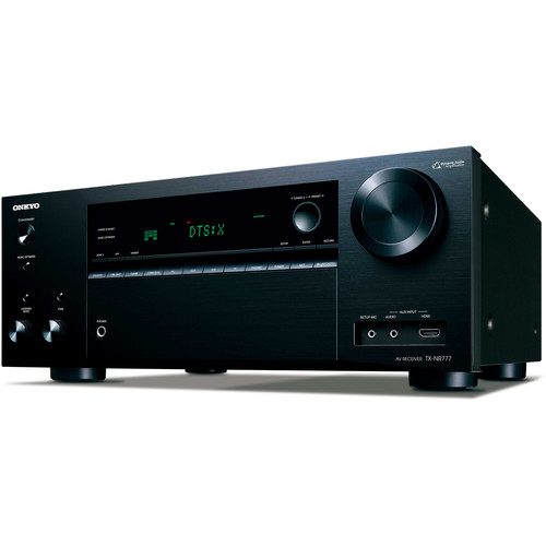 Onkyo TX-NR777 7.2 Channel AV Network Receiver - Wi-Fi - Black