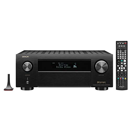 Denon IN-Command Series AVR-X4500H 9.2 Channel AV Network Receiver - Black