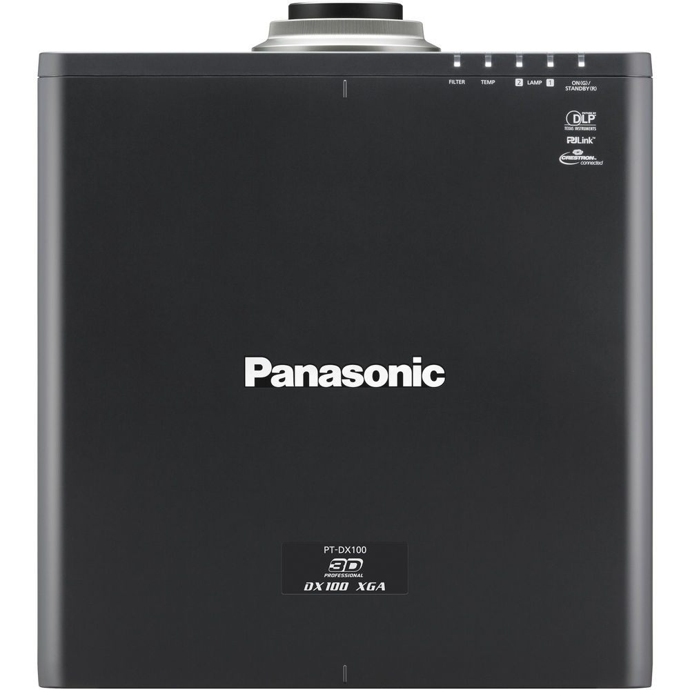 Panasonic PT-DX100ULK XGA (1024 x 768) DLP projector - 10000 lumens