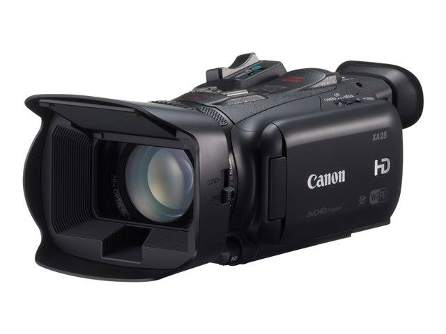 Canon XA25 3.09 MP Camcorder - USA Retail Kit