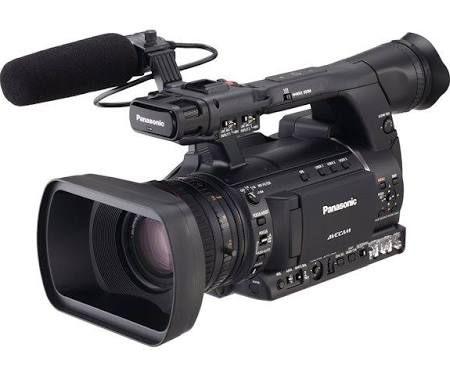 Image for Panasonic AVCCAM AG-AC160A 2.2 MP Camcorder - 1080p