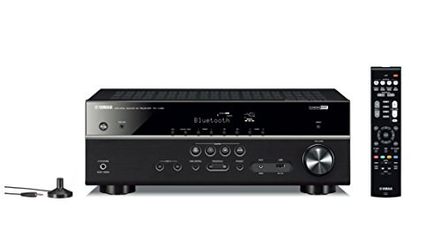 Yamaha RX-V385BL 5.1 Channe Network AV Receiver- Black