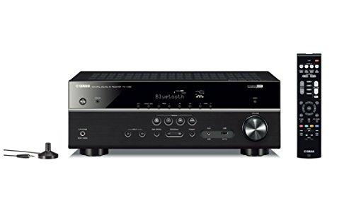 Yamaha RX-V385BL 5.1 Channe Network AV Receiver- Black