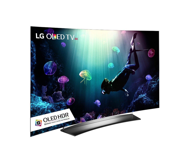 LG Electronics OLED65C6P 65'' Curved 4K UHD Smart OLED TV