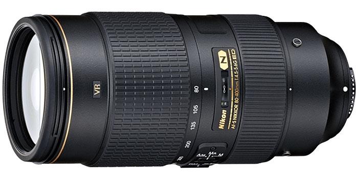 Image for Nikon AF-S NIKKOR 80-400mm f/4.5-5.6G ED VR Lens