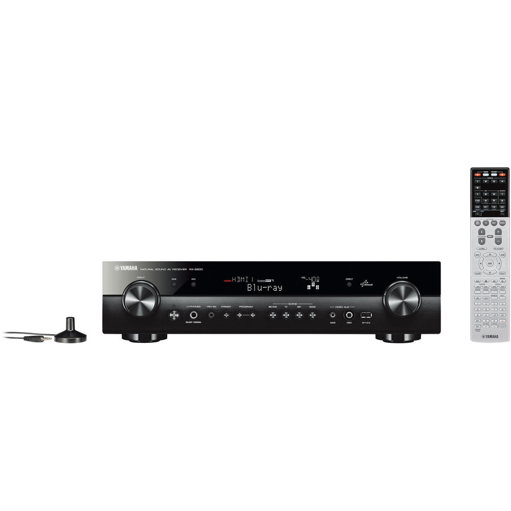 Yamaha RX-S600 5.1-Channel Network AV Receiver
