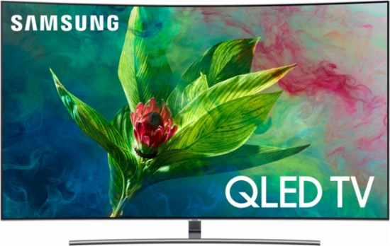 "Samsung QN55Q7CN 55"" Curved 4K Ultra HD Smart QLED TV"